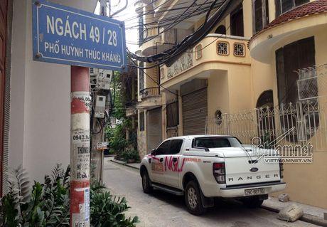 Ha Noi: Lai xe nga ngua nhin o to bi xit son hong chang chit - Anh 1
