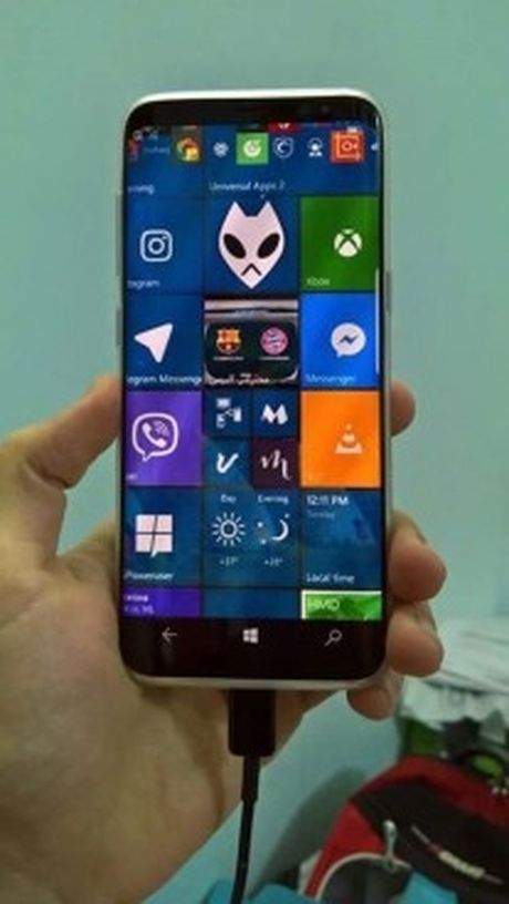 Samsung Galaxy S8 se co phien ban chay Windows 10 Mobile? - Anh 3