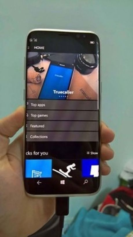 Samsung Galaxy S8 se co phien ban chay Windows 10 Mobile? - Anh 5