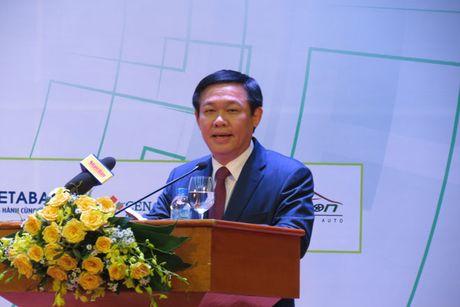 Pho thu tuong Vuong Dinh Hue: Khoi nghiep sang tao can huong toi phuc vu cong dong - Anh 2