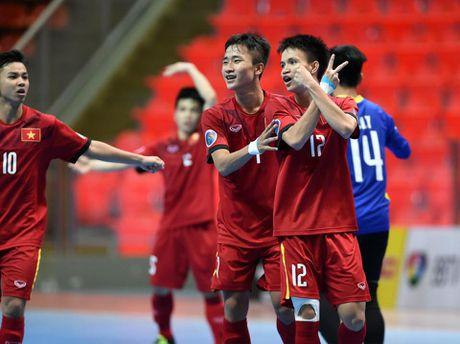 Xem truc tiep U20 Futsal Viet Nam 'sinh tu' voi U20 Nhat Ban - Anh 1