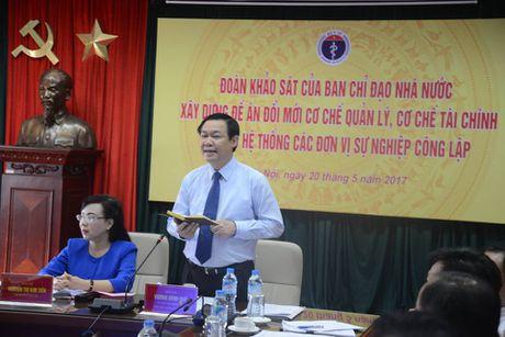 Pho Thu tuong Vuong Dinh Hue yeu cau ranh mach cong tu trong y te - Anh 1