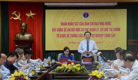 Pho Thu tuong Vuong Dinh Hue yeu cau ranh mach cong tu trong y te - Anh 2