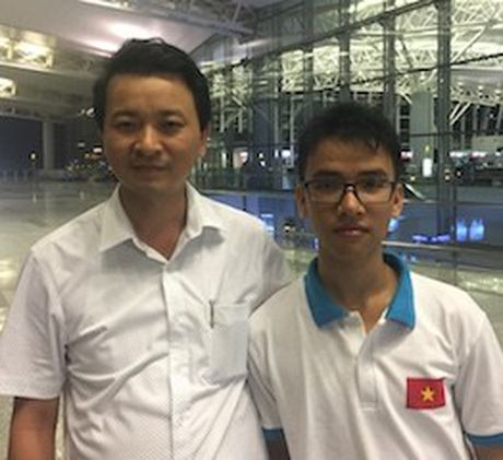 Hoc sinh Viet Nam doat giai Ba Intel ISEF 2017 - Anh 1