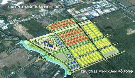 BCI vay OCB 750 ty dong de dau tu KCN Le Minh Xuan mo rong - Anh 1