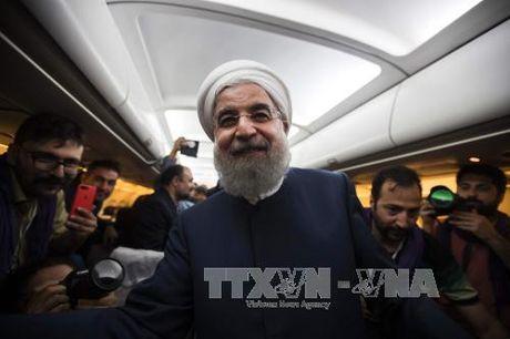 Cong dong quoc te chuc mung Tong thong Iran - Hassan Rouhani tai dac cu - Anh 1