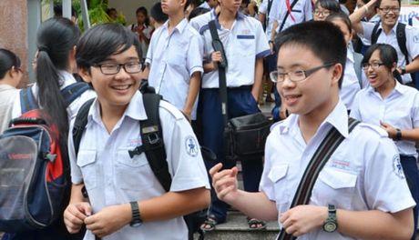 Thi THPT tai Ha Noi: Choang ti le choi 'tren troi' cua cac truong - Anh 1