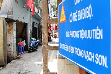 Doc dao 'duong BRT' danh rieng cho tre em di bo o Ha Noi - Anh 4
