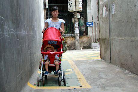 Doc dao 'duong BRT' danh rieng cho tre em di bo o Ha Noi - Anh 6