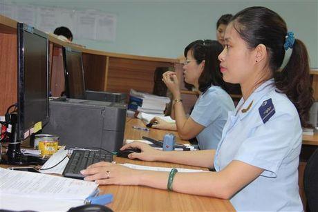 Hon 97% so thu thue tai Hai quan Hai Phong thuc hien bang dien tu - Anh 1