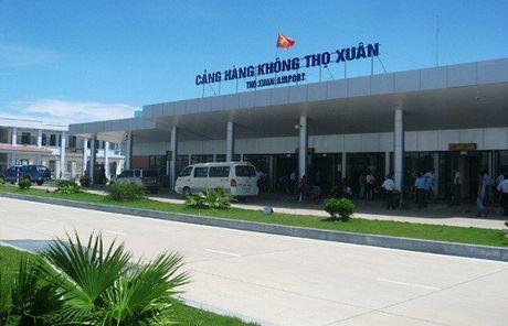 Khai thac chuyen bay quoc te tai cang hang khong Tho Xuan-Thanh Hoa - Anh 1