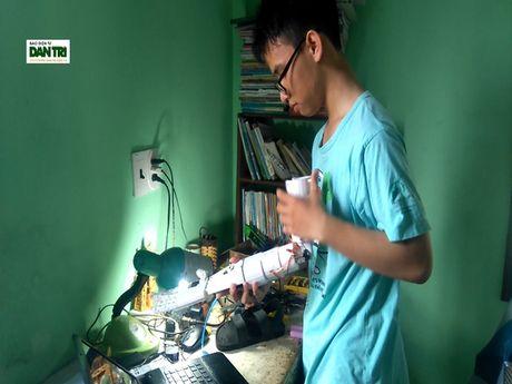 'Canh tay robot' doat giai Ba cuoc thi Khoa hoc Ky thuat Quoc te tai My - Anh 1