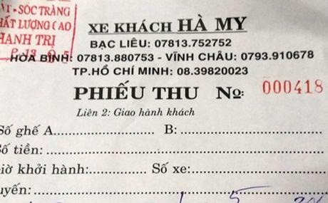 Xe khach ban ve bang phieu thu '5 khong' - Anh 2