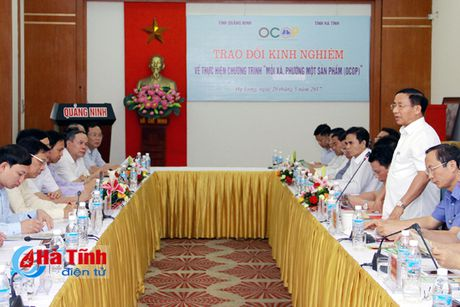 'Moi xa, phuong mot san pham' cua Quang Ninh la kinh nghiem de Ha Tinh tham khao, hoc tap - Anh 1
