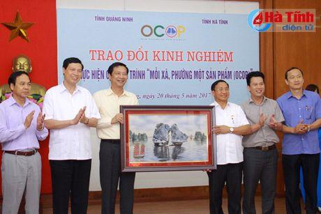 'Moi xa, phuong mot san pham' cua Quang Ninh la kinh nghiem de Ha Tinh tham khao, hoc tap - Anh 5