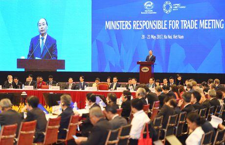 Thu tuong du khai mac Hoi nghi Bo truong Thuong mai APEC - Anh 1