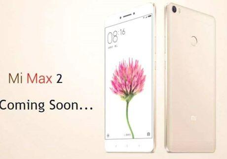 Xiaomi sap ra mat 'khung long' Mi Max 2 man hinh 6,4 inch, pin 5000 mAh - Anh 1