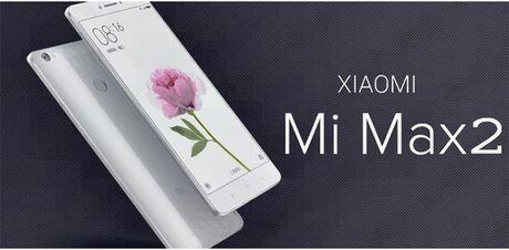 Xiaomi sap ra mat 'khung long' Mi Max 2 man hinh 6,4 inch, pin 5000 mAh - Anh 2