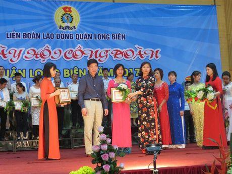 Ha Noi: Tung bung Ngay hoi Cong doan quan Long Bien nam 2017 - Anh 1
