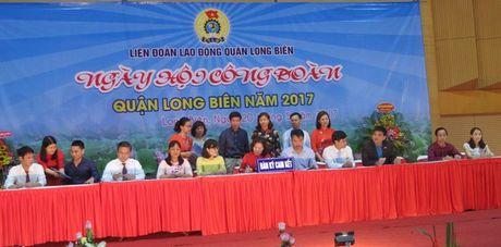 Ha Noi: Tung bung Ngay hoi Cong doan quan Long Bien nam 2017 - Anh 2
