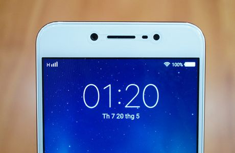 Can canh smartphone Vivo V5s dung camera truoc 20 MP - Anh 4