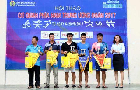 Hoi thao co quan phia nam Trung Uong Doan 2017: Ngoi vo dich chia deu o noi dung dan gian - Anh 1