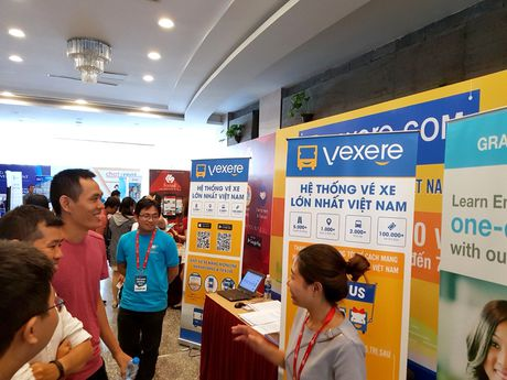 Loat startup Vexere, Giaohangnhanh, Fastsell,... tu hoi tai Vietnam Mobile Day 2017 - Anh 7
