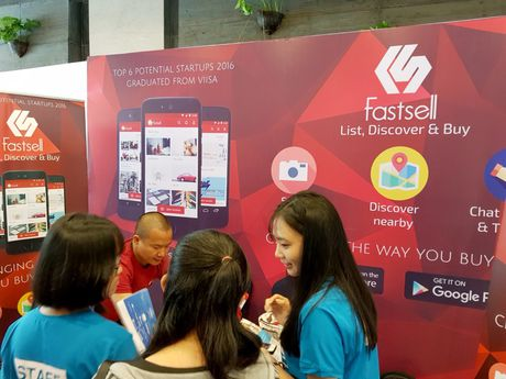 Loat startup Vexere, Giaohangnhanh, Fastsell,... tu hoi tai Vietnam Mobile Day 2017 - Anh 8