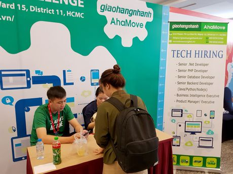 Loat startup Vexere, Giaohangnhanh, Fastsell,... tu hoi tai Vietnam Mobile Day 2017 - Anh 9