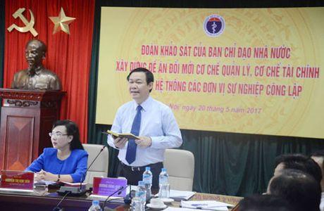 Pho Thu tuong Vuong Dinh Hue: 'Xa hoi hoa dich vu y te phai ranh mach' - Anh 1