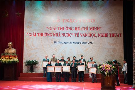 Toan canh le trao 'Giai thuong Ho Chi Minh' ve Van hoc, Nghe thuat - Anh 12