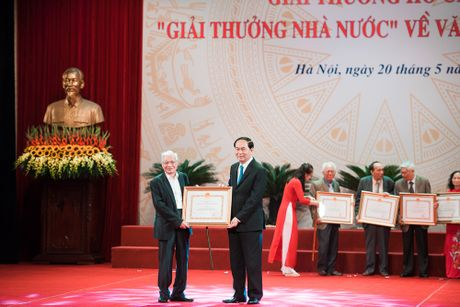 Toan canh le trao 'Giai thuong Ho Chi Minh' ve Van hoc, Nghe thuat - Anh 8