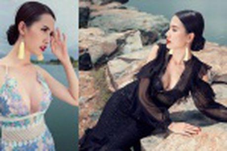 Phan Thi Mo mac tre nai, khoe vong mot cuc sexy - Anh 9