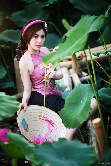 Dien vien Vo Thanh Hien goi cam ben sen: 'Doi khi phai manh me buong bo cai cu de don nhan cai moi' - Anh 6