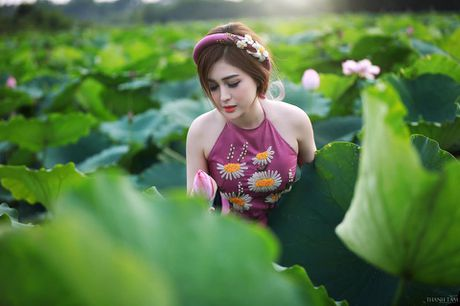 Dien vien Vo Thanh Hien goi cam ben sen: 'Doi khi phai manh me buong bo cai cu de don nhan cai moi' - Anh 8