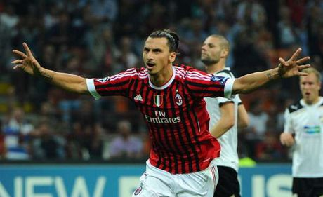 Nong: Dai dien xac nhan Ibrahimovic co the tro lai Serie A - Anh 1