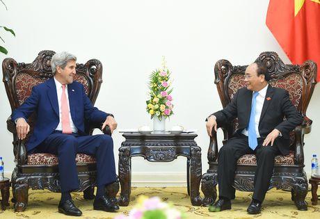 Thu tuong Nguyen Xuan Phuc tiep cuu Ngoai truong Hoa Ky John Kerry - Anh 1