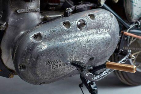 Ngam tuyet pham xe do Royal Enfield Swar - Anh 8