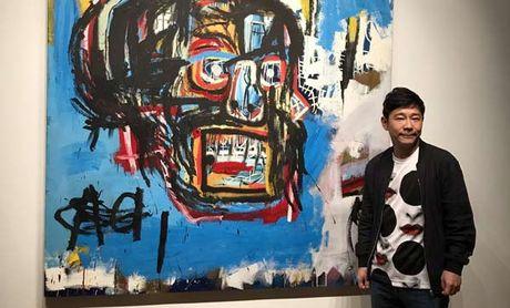 Buc tranh ve phan biet chung toc cua Basquiat gia 110,5 trieu do - Anh 1