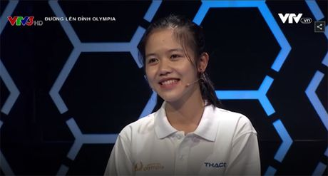 Hai co gai xinh dep 'gay bao' chuong trinh Olympia 2017 - Anh 8