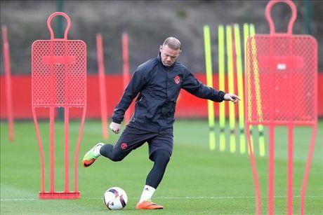 Quyet cuu van su nghiep, Wayne Rooney som lao vao tap luyen - Anh 1