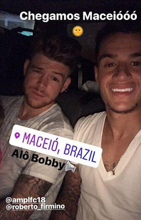 Sao Liverpool du lich cung nhau tai Brazil - Anh 5