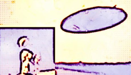 Xon xao nhan chung thay UFO khong lo cung nhom nguoi cao 7m - Anh 4