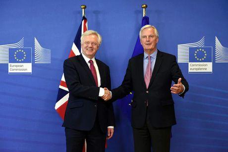 Anh - EU bat dau dam phan Brexit - Anh 1
