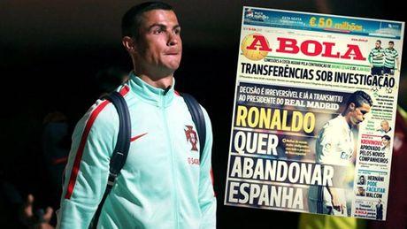 Co dung la Ronaldo thuc su muon roi Real? - Anh 1