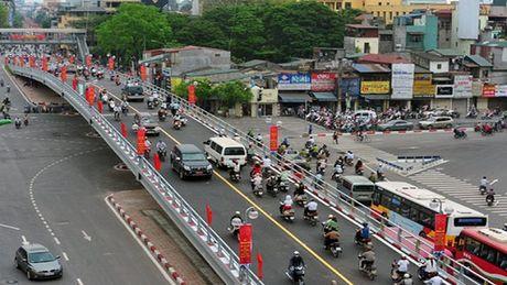Ha Noi xay cau vuot tai nut giao An Duong- duong Thanh Nien - Anh 1