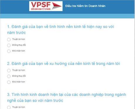 Lan dau tien khao sat chi so niem tin doanh nhan tai Viet Nam - Anh 1