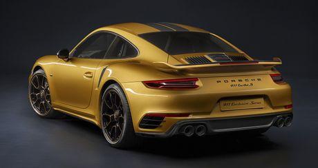 Porsche ra mat 911 Turbo S Exclusive san xuat gioi han 500 chiec - Anh 1