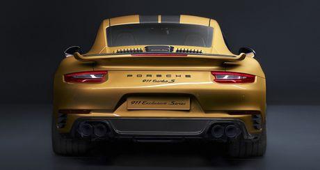 Porsche ra mat 911 Turbo S Exclusive san xuat gioi han 500 chiec - Anh 4