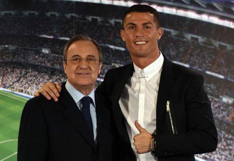 Ong trum Perez ra gia Ronaldo 1 ty euro, van khao khat Messi - Anh 1